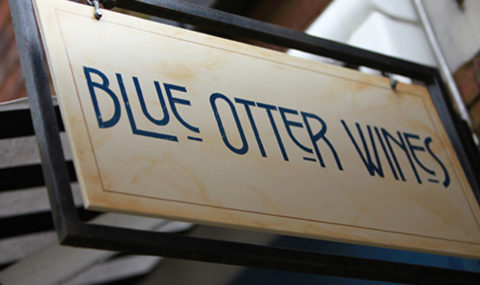 View Blue otter wines